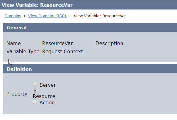 Variable-ResourceContext